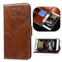 Bakeey™ Geometry Flip PU Leather Card Holder Full Cover Protective Case for Xiaomi Mi6X Mi 6X Mi A2
