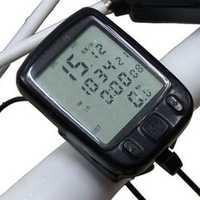 LED Display Cycling Bicycle Bike Computer Odometer Speedometer