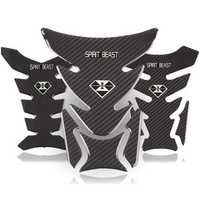 Reflective 3D Motorcycle Sticker Gas Fuel Tank Pad Cover Decoration Decals