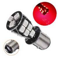 P21 5W 1157 BAY15D 18 SMD Red Canbus Car LED Light Bulb