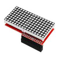 5pcs 8x16 MAX7219 LED Dot Matrix Screen Module For Arduino Raspberry Pi B/ B+