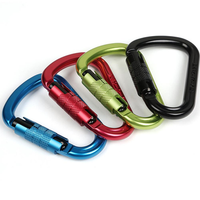 XINDA XD-Q9702 25KN Safety Master Pear Type Climbing Lock Carabiner Rock Buckle Equipment
