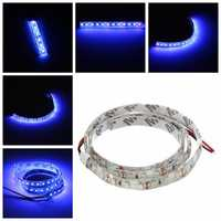 UV Ultraviolet Purple 3528 LED Flexible Strip Lamp White Light 12V Waterproof