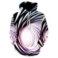 Men's 3D Abstract Pattern Hoodies Sweatshirts