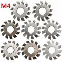 M4 PA20 Inside Bore Diameter 22mm #1-8 HSS Involute Gear Milling Cutter