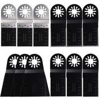 12pcs Multitool Blades for Fein Multimaster Bosch Makita Oscillating Multitools Oscillating Tools