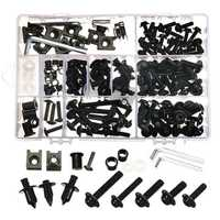 CNC Alloy Motorcycle Complete Fairing Bolt Bodywork Screws Nuts Kit For Kawasaki