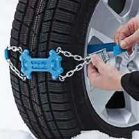 88cm Hard Plastic Metal Car Tire Anti-skid Chain Outdoor Hiking Camping Snowfield Emergency Snow Chain