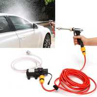65W High Pressure Cleaning Pump Car Electric Washer Washing Cleaner Machine Kit with DC 12V Car charger