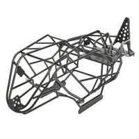 Steel Roll Cage Body Frame for 1/10 Axial Wraith Crawler Truck RC Car Parts