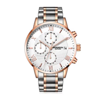 GUANQIN GS19094 Calendar Business Stainless Quartz Watch