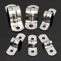 Stainless Steel Plumbing Pipe Saddle Clip Hose Bracket M5 to M20