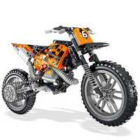 LELE 2IN1 Exploiture Speed Racing Motorcycle Building Blocks Toys Model 253pcs Bricks