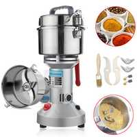 800g 220V 500W Electric High-Speed Coffee Bean Herb Seasoning Feed Mill Grain Grinder Powder Machine