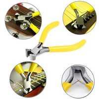 Guitar Fret Puller Pliers File Fingerboard Guards Fretboard Fret Protector Shims Set