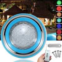 45W RGB Swimming Pool Fountain LED Light Colorful IP68 Waterproof Flash Lamp With Remote Control Switch