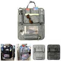 Car Seat Storage Bag Back Seat Holder Head Rest Hanger Mulch-Pocket Organizer Universal