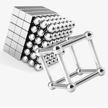 80pcs Buck Ball+78pcs Magnetic Bar Cube Mixture Magnetic Toys Neodymium N35 Magnet Toy