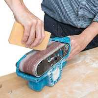Drillpro 200mm Abrasive Cleaning Stick Sanding Belt Band Drum Cleaner Sandpaper Cleaning Eraser for Belt Disc Sander Tool