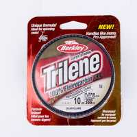 Berkley Trilene 100% Fluorocarbon XL 182m Fishing Lines Better For Spinning Reel Clear Super Smooth Durable Carp Fishing Tackle