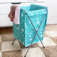Oxford Fabric Foldable Laundry Basket Bag Travel Clothes Storage Bin Hamper