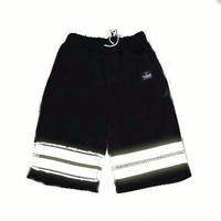 Mens Summer 3M Reflective Shorts Night Running Sports Leggings Fixed Gear Bike Sports Shorts-pants
