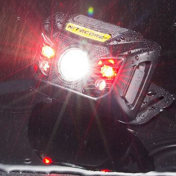 Nitecore NU32 550LM XP G3 S3 LED Headlamp Lightweight 330h Max Runtime IP67 Built In Rechargeable Battery USB Port