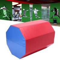23.6×23.6×30.3inch Octagonal Jumping Box Skip Gymnastics Sport Training Exercise Pad Air Track Mat