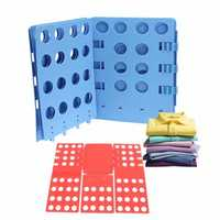 Clothes T-Shirt Folder Adult Magic Folding Board Flip Fold Laundry Organizer Folder Board