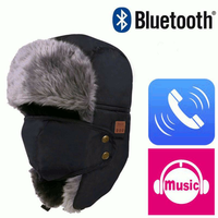 Winter Warm Beanie Ski Hat Wireless bluetooth Smart Cap Headset Headphone Speaker Mic Music
