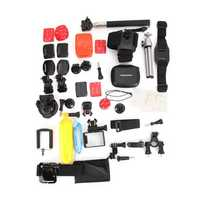 36 In 1 GoPro Accessories Sportscamera Set For GoPro HD Hero 4 Session 2 3 4 3 Plus Xiaomi YI Camera SJ4000
