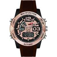 KAT-WACH KT718 Chronograph Men Dual Display Digital Watch