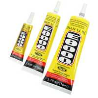 E8000 Glue Multi Purpose Clear Self Leveling Acrylic Adhesive Shoes Jewelry DIY Crafts Phone Screen