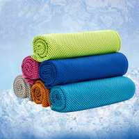 31x100cm Microfiber Squishy Absorbent Summer Cold Towel Sports Travel Cooling Washcloth