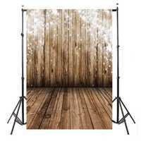 3x5FT Vinyl Wooden Wall Floor Photography Backdrop Background Photo Studio Props