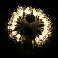KCASA 2M 20 LED Spider Star String Lights LED Fairy Lights for Festival Christmas Halloween Party Wedding Decoration Battery Powered