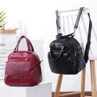 Leisure Wild Multifunctional Backpack Shoulder Bag For Women