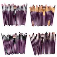 20Pcs Professional Makeup Brushes Set Synthetic Hairbrush Kit Cosmetic Powder Blsuh Foundation