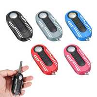 3 Buttons Remote Key Cover Case Line Styling Protector Plastic for Fiat 500