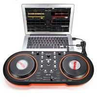 Blacknote MID-100 Computer DJ System USB MIDI DJ Controller Brake Disc for MAC and PC