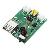 3.7V Lithium Battery Solar Controller USB Charging Module Board