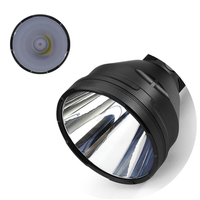 DIY Flashlight Reflector For Astrolux MF04 / MF04S Flashlight Spare Light Cup Torch Accessories