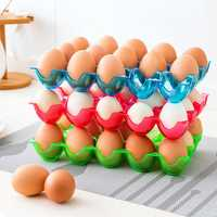 15 Grid Egg Storage Box Refrigerator Anti Broken Egg Box Kitchen Fridge Storage Container