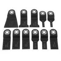 11pcs Multitool Saw Blade Accessories Kit for Oscillating Multitool Machine