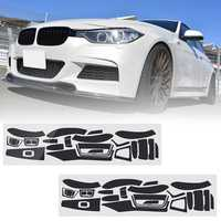Carbon Fiber Pattern Car Interior Dashboard Sticker Wrap Decoration for BMW 3-Series F30 F31 F35 2011-2017 M3 2017