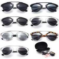 Men Women Vintage Christian Designer Fashion Retro Sunglasses