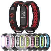 Mijobs Anti-lost Replacement Strap Silicone Watch Band for Xiaomi Mi band 3