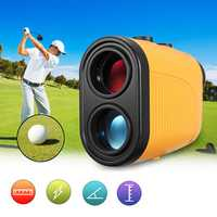 6X Golf Rangefinder Zoom Golfing Hunting Telescope Laser Finder Scope 600m Golf Tools