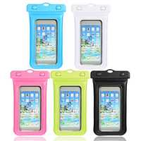 Universal Waterproof Phone Bag Armband Cycling Holder For 5-6 Inch
