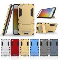 Armor Shockproof Stand Holder TPU+PC Protective Case for Xiaomi Redmi 4A